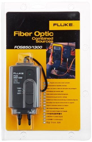 Fluke Industrial FOS-850/1300 - Fuente luz fibra óptica