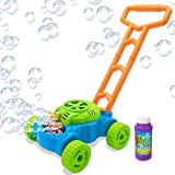 ArtCreativity Bubble Lawn Mower - Electronic Bubble Blower Machine - Fun Bubbles Blowing Push Toys...