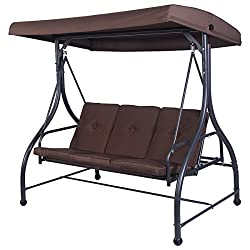 Heavy Duty Patio Swing With Canopy