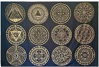 CraftEssentialsOnline.com Sacred Geometry Tapestry