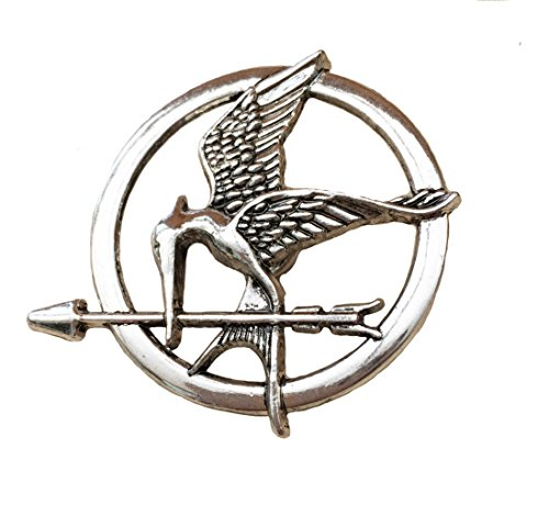 Orion Creations Hunger Games Katniss Mockingjay Siber ton Brosche/Pin