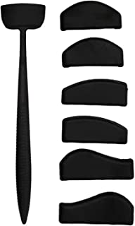Crease Line Kit Eye Shadow Applicator Silicone Eyeshadow Stamp Crease Tools Precise Eyeshadow in Seconds,Silicone Lazy Qui...