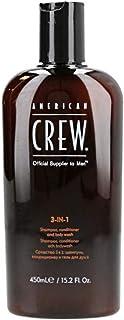 American Crew Classic 3-in-1 Shampoo Conditioner and Body Wash, 450 ml