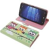 foto-kontor Tasche für Alcatel One Touch Idol 4 Pro Book