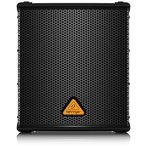 "BEHRINGER B1200D-PRO High-Performance Active 500-Watt 12"" Pa Subwoofer with Built-in Stereo Crossover Black"