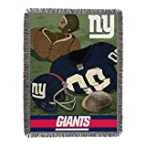 The Northwest Company NFL New York Giants 'Vintage' Woven Tapestry Throw Blanket, 48' x 60', Blue