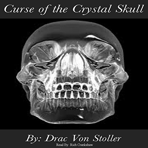 Curse of the Crystal Skull audiobook cover art