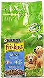 Purina Friskies Vitafit Junior Crocchette per il Cane con Pollo e l'Aggiunta di Latte e Verdure, 1.5kg