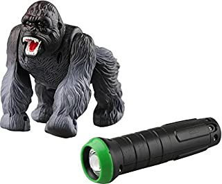 Top Race Remote Control Gorilla Animal Toy Infrared RC with Lights and Sound