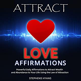 Attract Love Affirmations audiobook cover art