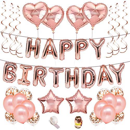 XXL 100cm gigantes helio número 2 folienballon Pink chica cumpleaños decorativas rosa 1m