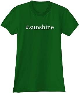 The Town Butler #Sunshine - A Soft & Comfortable Hashtag Women's Junior Cut T-Shirt