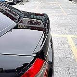 ABS Coche Tronco Alerón Trasero para Mercedes Benz AMG W211 E63 2006 2007 2008, Trunk Techo Spoiler Lip Wing, Alerón Labio Del Maletero Tail Lip Wing Accesorios