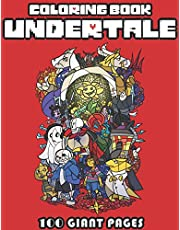 Undertale Coloring Book: Super Gift for Kids and Fans - Great Coloring Book with High Quality Images