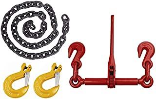 2600 lbs Working Load Limit 1//4 Trade Indusco 16100031 Drop Forged Alloy Steel Lever Type Min-Max Chain Load Binder