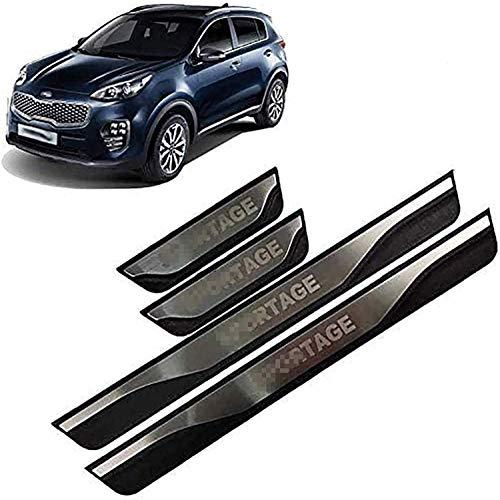 Decoración para los umbrales de las puertas del coche, para Kia Sportage Ql 4 2016-2019 Accesorios de decoración adhesivos antirrayas antideslizantes.