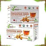 Pure Ceylon Cinnamon Brew - 100% Organic Ceylon Cinnamon Herbal Hot Beverage (PACK OF 2 TOTAL 40 SACHETS – 20 COUNT PER BOX)
