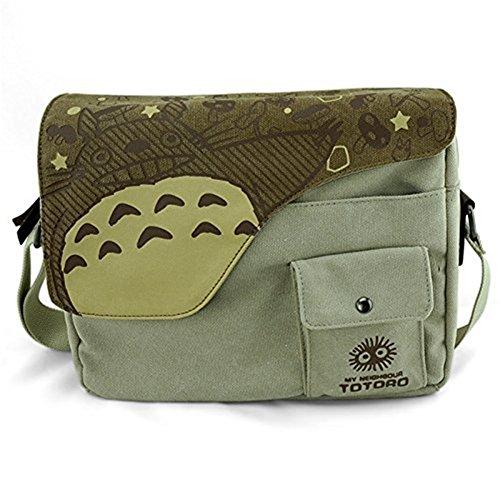 Japanese Anime Totoro Shoulder School Bag Messenger Bags
