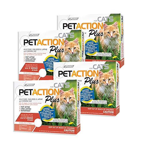 Pet Action Plus for Cats 12 Doses