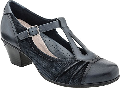 Earth Women's Pewter Metallic Leather Wanderlust 9 Medium US