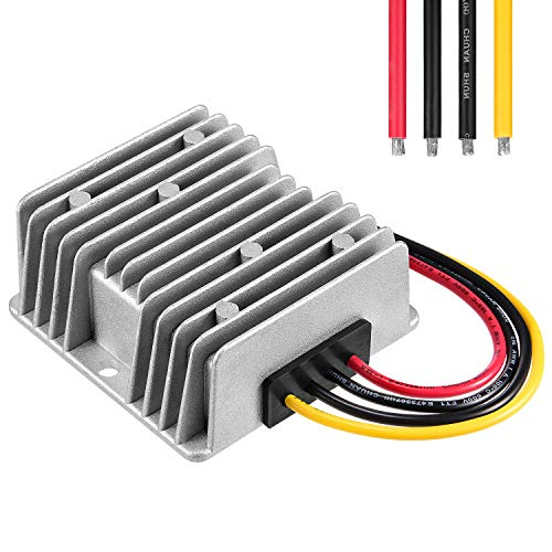 DC/DC Converter Regulator Reducer 24V Step Down to 12V 10A 120W Golf Cart Waterproof Voltage Convert Power SupplyTransformer Volt Module