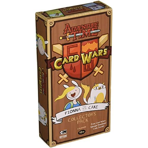 Adventure Time Card Wars Collector's Pack 6 - Fionna vs Cake English