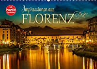 Impressionen aus FLORENZ (Wandkalender 2022 DIN A2 quer): Idylle und historische Bauten (Geburtstagskalender, 14 Seiten )