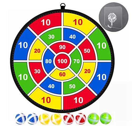 Review Of Lbsel kids game Dart Board with 8 Balls kids board games Toy-Safe Dart Game-kids gift outd...