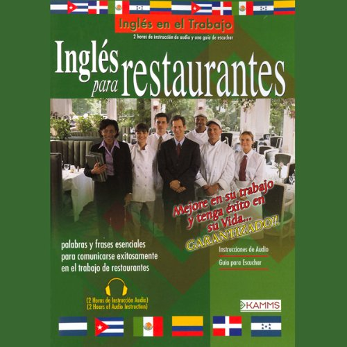 Ingles Para Restaurantes (Texto Completo) [English for Restaurants] audiobook cover art