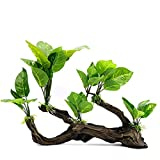 GJHT Decoraciones Artificiales de Acuario Planta acuática Artificial Plástico Plasty Fish Tank Decorations Fish Tank Aquarium Landscaping Decoration Acuario de Agua Dulce Plantas Acuario casero