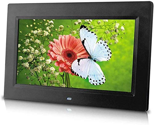 10-Inch Digital Photo Frame (Black), Hi-Resolution, Various Transitional Effects, Slide Show,Interval time Adjustable, Plug in a SD Card or Flash Drive to Access and Display Your Photos.