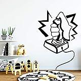 Tianpengyuanshuai Juego de calcomanía de Vinilo removible Living Wall Art -30X45cm