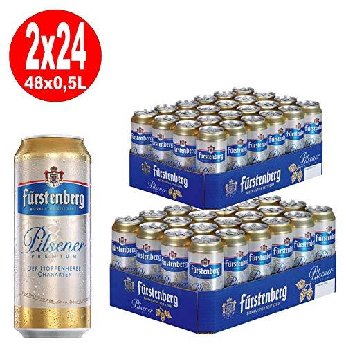 2 x Fürstenberg Pils 24x0,5L Dosen = 48 Dosen 4,9% Vol_EINWEG