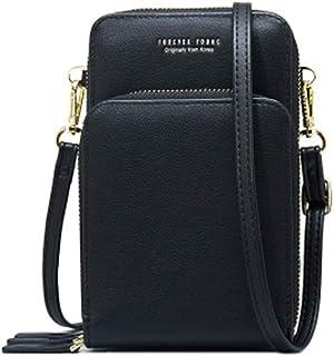 Damenhandtaschen Elegant,Umhängetasche Kunstleder,Coopay Damen Schultertasche,3 Reißverschluss Universal Praktisch Beutel,...