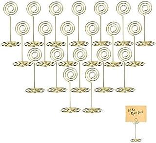 Gold Kartenhalter Platz Kartenhalter, Tischnummer Halter, Foto Halter (Preis pro Halter)