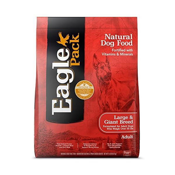 Eagle Pack Natural Dry Dog Food Large Breed Dog Food Chicken & Pork