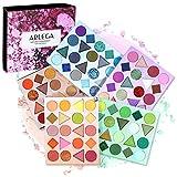 Paletas de Sombras de Ojos, Arlega 100 Colores Paletas de Maquillaje Altamente Pigmentada Impermeables Brillo Sombras de Ojos Mate Paleta, Principiantes y Artista de Maquillaje Profesional