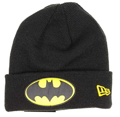 Herren new era batman kinder beanie kids character cuff - batman-beanie-black jugend