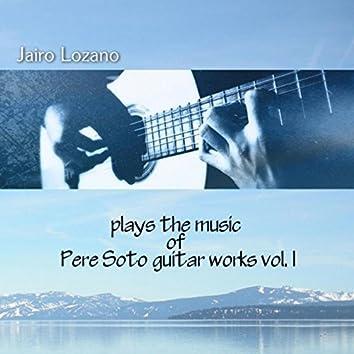 Pere Soto Integral de Guitarra, Vol. 1