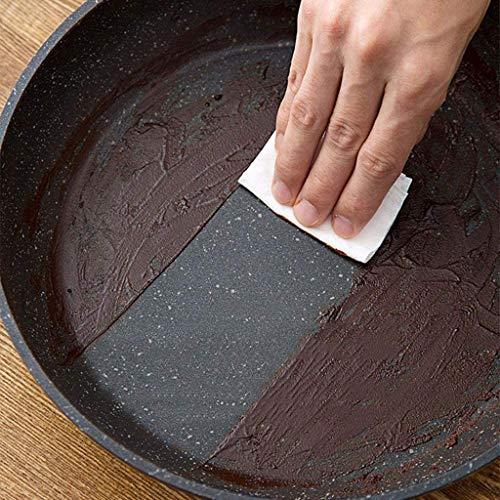 ECSWP Cacerola antiadherente, antiadherente que cocina la cacerola sartén Wok Maifan Piedra cacerola antiadherente de cocina que cocina la herramienta