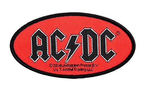 AC/DC – Logo ovale [Patch/écusson, tissé] [SP1901]