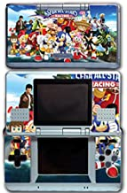 Sega All Stars Sonic Shenmue Knuckles Tails Amy Shadow Eggman Monkey Ball Racing Video Game Vinyl Decal Skin Sticker Cover for Original Nintendo DS System