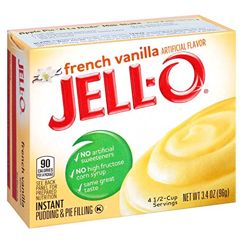 French Vanilla Instant Pudding Mix