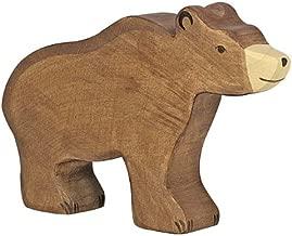 Holztiger Brown Bear Toy Figure