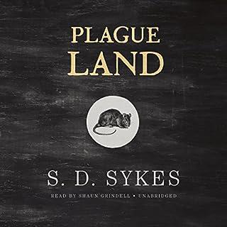 Plague Land audiobook cover art
