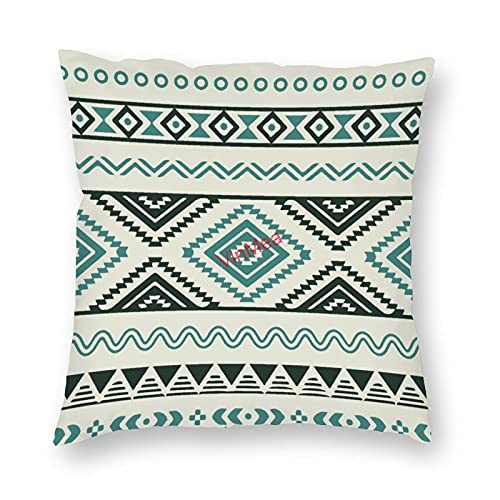 VinMea Funda de almohada decorativa con textura bohemia, fundas de cojín para sofá, dormitorio, hogar, oficina, 45 x 45 cm