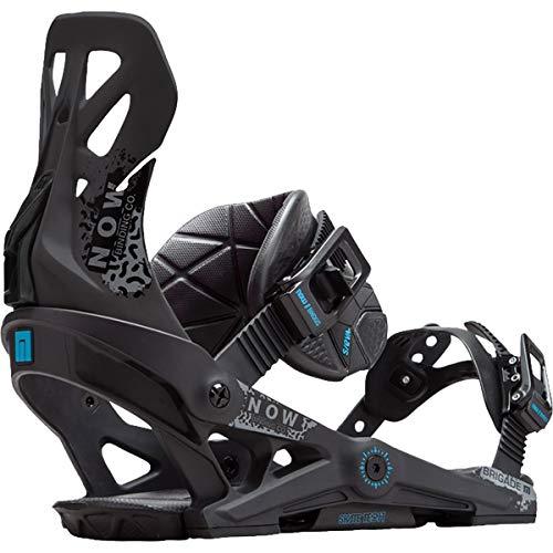 NOW Brigade Snowboard Binding (Black, S) - Men's