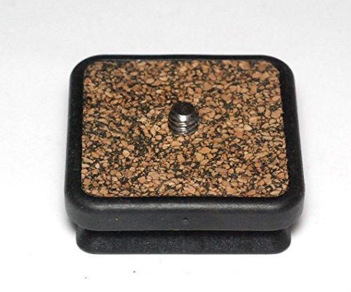 Cullmann PRIMAX PX658 Schnellkupplungsplatte mit Anschlussschraube (für 350/370M/380/390) schwarz/Kork