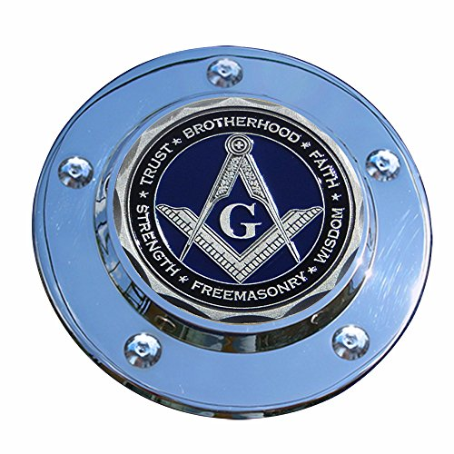 MotorDog69 Masonic Harley Timing Cover Coin Mount Set……