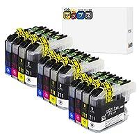インクのチップス ブラザー用 LC211 互換インク 4色×3セット 計12本 LC211-4PK 互換